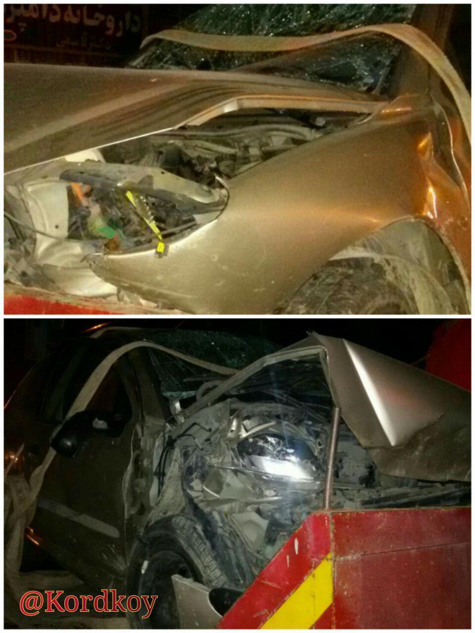 تصادف 206 در کردکوی