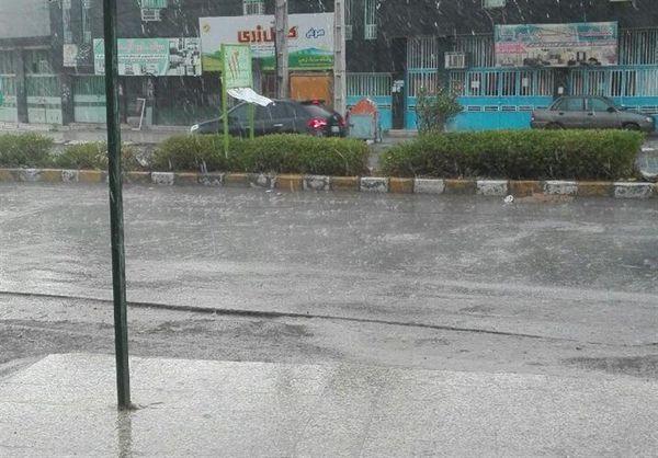 بارش ۴۰میلی متری باران در غرب گلستان