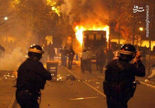 فیلم/ ادامه ناآرامی در حومه پاریس