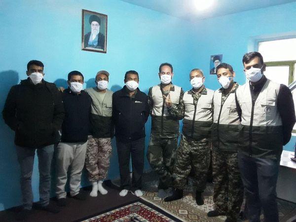 فعالیت قرارگاه جهادی مختومقلی فراغی در مبارزه با ویروس کرونا/تصاویر