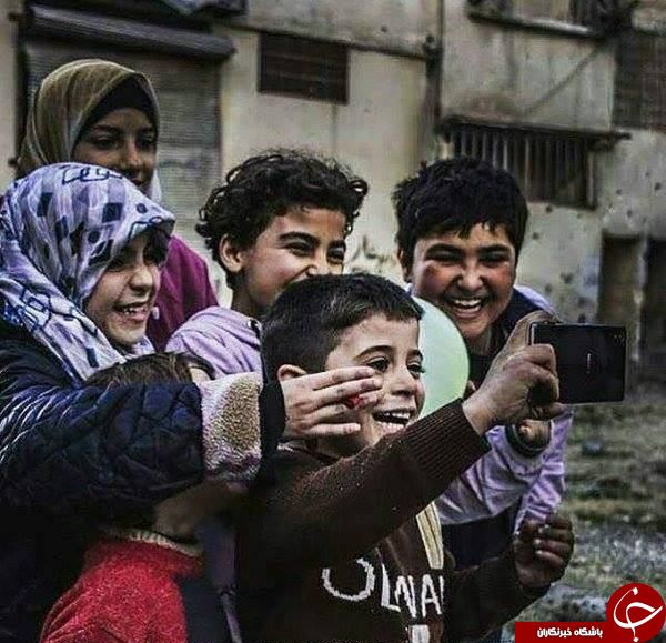 سلفی معنادار در سوریه +عکس