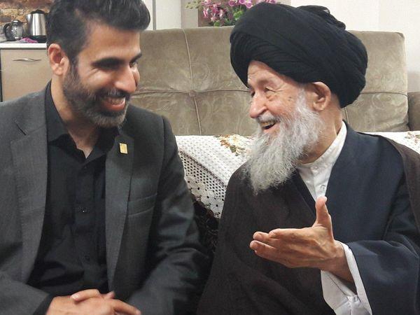 حضور دبیر کل جدید اتحادیه انجمن های اسلامی دانش آموزان درهیئت انصار المهدی گرگان