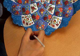 تصاویر/ کارآفرینی زوج جوان شیرازی از جنس هنر