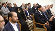 تصاویری از دیدار دستاندرکاران کنگره ۱۴هزار شهید جامعه کارگری کشور با رهبر انقلاب