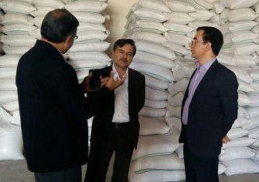 توزیع کود و بذر در شهرستان کلاله