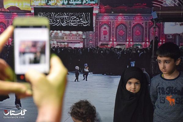 گزارش تصویری / شب هفتم موکب جاماندگان پیاده روی اربعین حسینی
