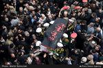 تشییع خبرنگار شهید محسن خزایی در تهران+تصاویر