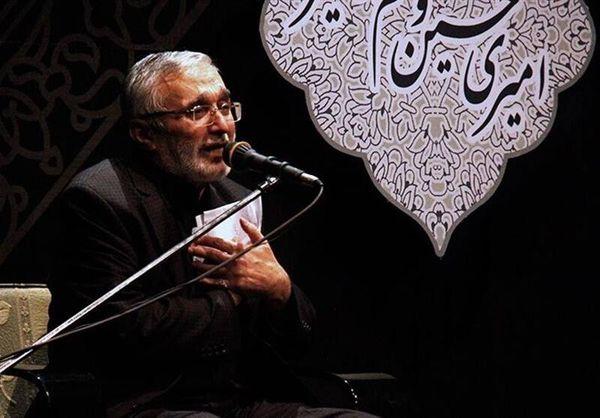 فیلم/ روضه جانسوز امام باقر(ع) با نوای حاج منصور ارضی