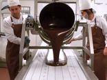 فیلم/ در کارخانه شکلات سازی چه می گذرد؟