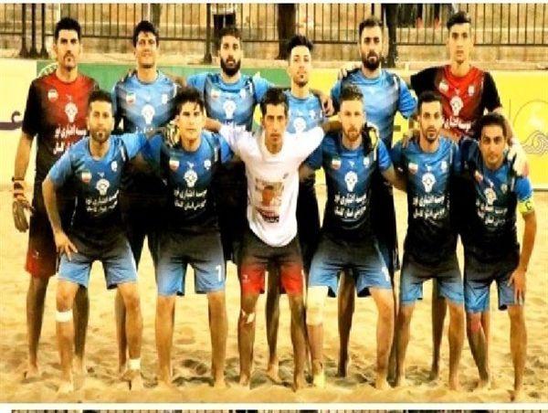 پیروزی تیم فوتبال ساحلی ملوان بندرگز
