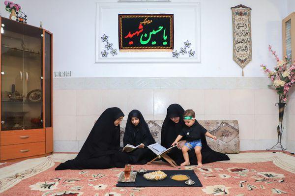 برگزاری طرح عزاداری «خانه به خانه» توسط کانون کریمان گرگان