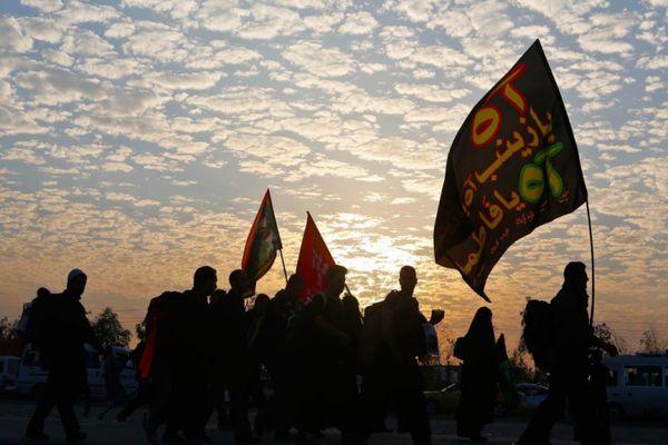 عکس/ نذر متفاوت موکبی در نجف اشرف