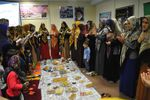 برگزاری مراسم بر بال فرشتگان در مراوه تپه +تصاویر