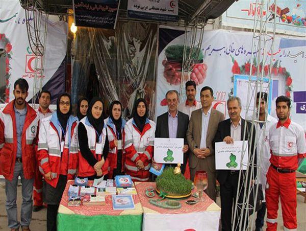 خدمات رسانی 7 پایگاه هلال احمر در گرگان