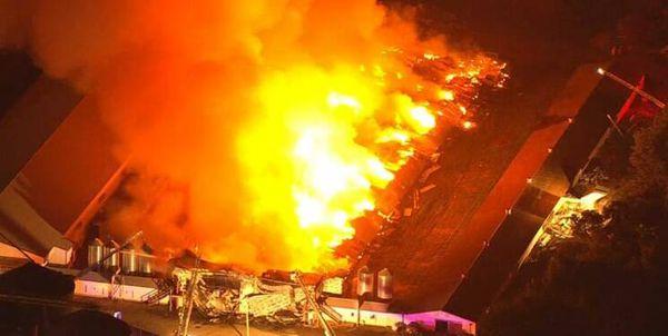 فیلم/ آتشسوزی آمریکا اینبار در کلرادو!