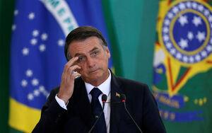 اقدام جنجالی رییس جمهور برزیل در اوج شیوع کرونا +فیلم