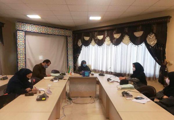 جلسه توجیهی مدرسان کارگاههای مجازی فصل زمستان کانون گلستان