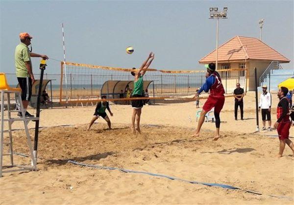 اردوی تیم ملی والیبال ساحلی در بندرترکمن برگزار میشود