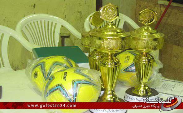 قهرمانی علی آباد در فوتسال استان+جدول کامل