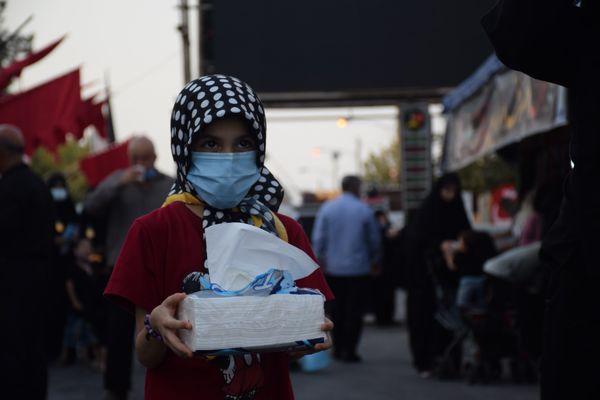 شب سوم موکب جاماندگان پیاده روی اربعین در گرگان به روایت تصویر