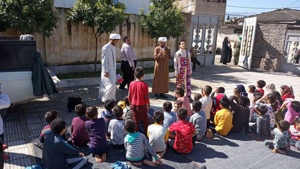 گزارش تصویری /فعالیت گروه جهادی شهید حقانی