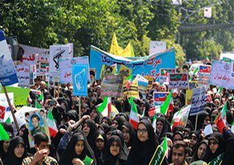 تقدیر ار حضور بی نظیر مردم گلستان در راهپیمایی روز قدس