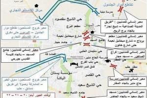 آمار تقریبی تروریستها در حلب