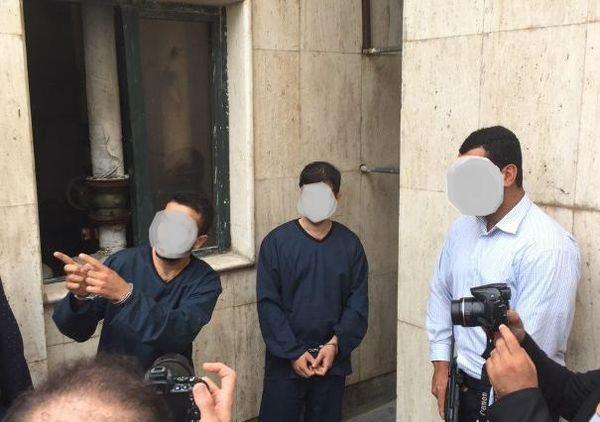 سارقان بانک ملی تنکابن در گرگان دستگیر شدند + تصاویر