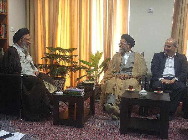 وزیر اطلاعات با نماینده ولی فقیه در گلستان دیدار کرد