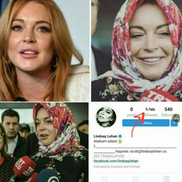 هنرپیشه هالیودی مسلمان شد و حجاب اختیار کرد