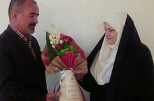 هدیه بازنشستگی بانوی گنبدی به همسرش