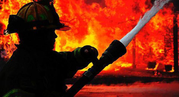 آتش سوزی منزل در گرگان