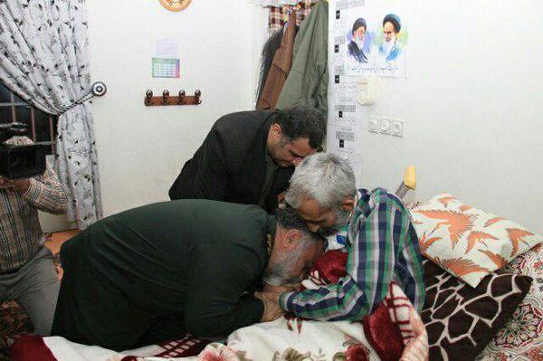 آخرین نفس ، آخرین بوسه و آخرین فیش حقوقی یک جانباز شهید گلستانی