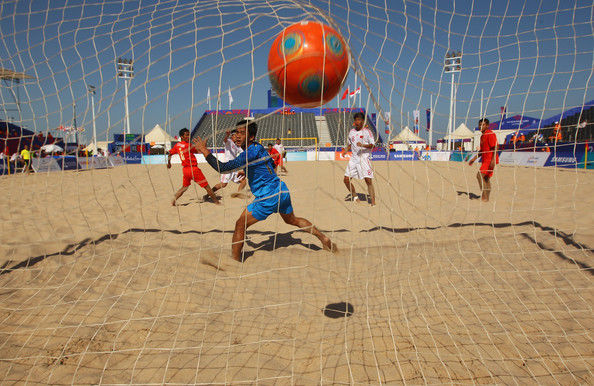 درخشش تیم ملوان بندرگز در رقابت های فوتبال ساحلی امیدهای کشور
