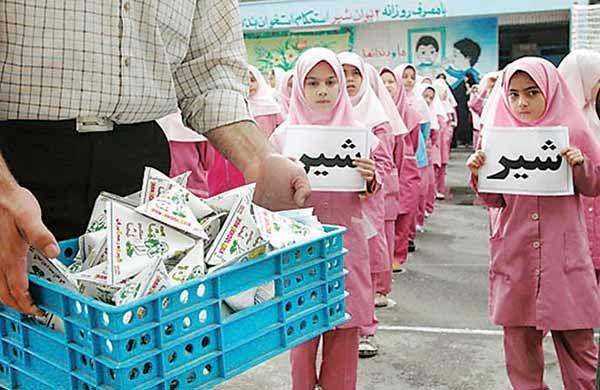 توزیع شیر در مدارس به ۸ استان دیگر میرسد/ عدم تخصیص اعتبار برای تامین شیر