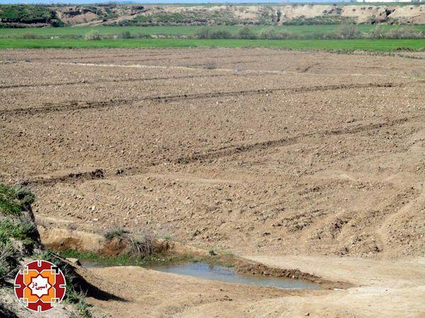 بی آبی زمین های کشاورزی پایین دست گرگانرود با وجود سد وشمگیر + سند و تصاویر
