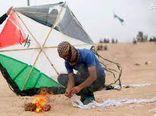 فیلم/ بادکنکهای آتشزای فلسطینی هم مشغول هستند