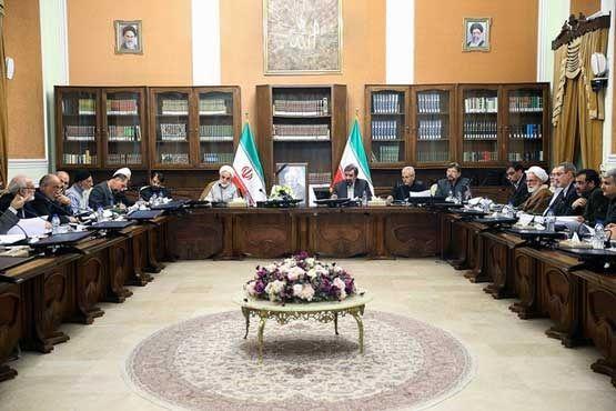 اولین جلسه مجمع تشخیص بعد از فوت هاشمی