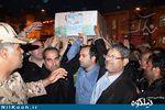 وداع مردم گالیکش با پیکر شهید مدافع حرم، صادق شبیک+تصاویر
