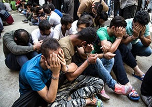 جمع آوری بیش از ۳۰ معتاد متجاهر در علی آباد کتول