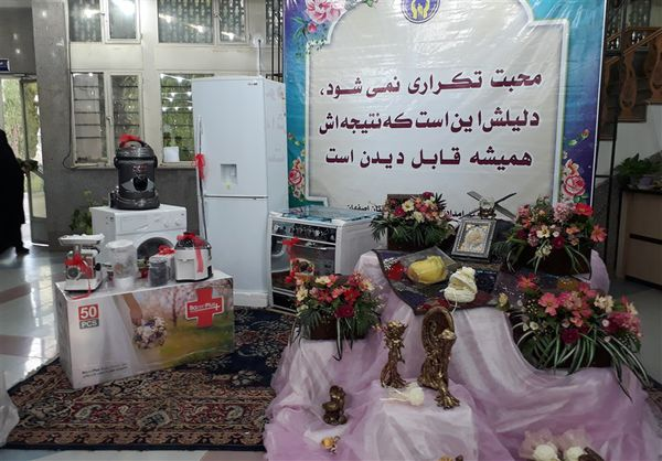 ۱۰۰ سری جهیزیه از سوی سپاه گلستان به زوجهای جوان اهدا شد