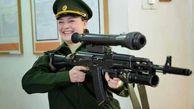 یگان ویژه تک تیراندازان زن روسیه+عکس