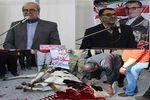 از قربانی کردن گوساله جلوی پای یک نامزد تا سخنرانی دو کاندیدا در یک مسجد + تصاویر