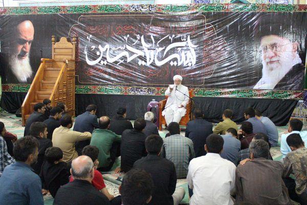 مراسم سوگواری سالار شهیدان (ع) با سخنرانی علمای اهل سنت+تصاویر