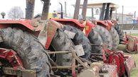 برداشت محصولات کشاورزی با باک خالی تراکتورها