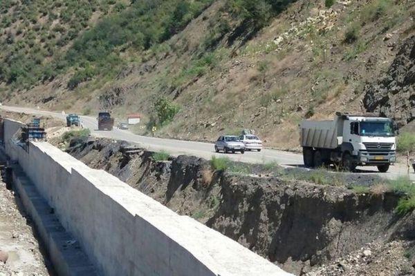 تردد ازطریق مسیر فرعی آزادشهر– شاهرود برقرار است