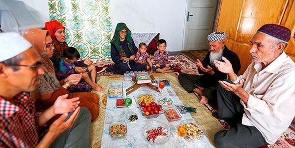 آداب و رسوم گلستانیها در ماه رمضان