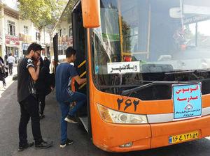 فعالیت ۵ اتوبوس مدرسه، ویژه حمل و نقل دانش آموزان در گرگان