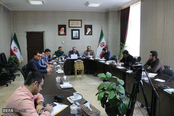 جلسه شورای هماهنگی حفظ آثار دفاع مقدس شهرستانهای استان گلستان برگزار شد