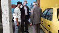 بازدید از مراکز دوگانهسوز کردن خودروهای حمل و نقل عمومی در شهرستان گرگان